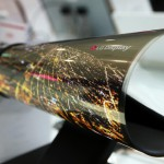 LG rollable OLED 18-inch display