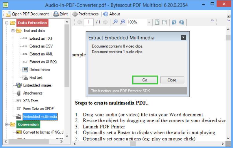 PDF Multitool