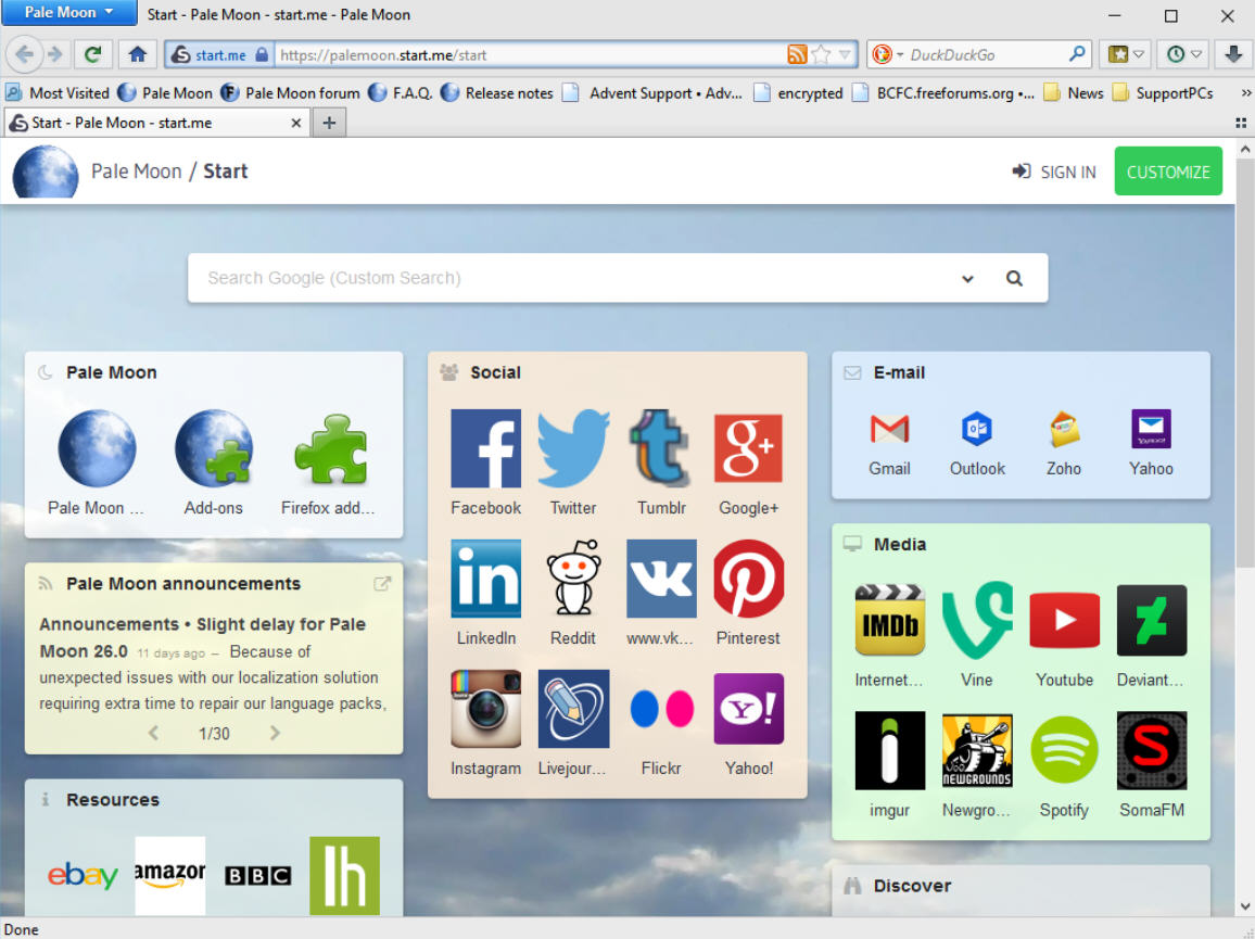 firefox addons for pale moon