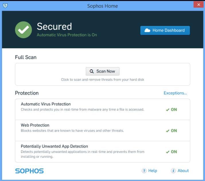 Sophos Home Premium Mac