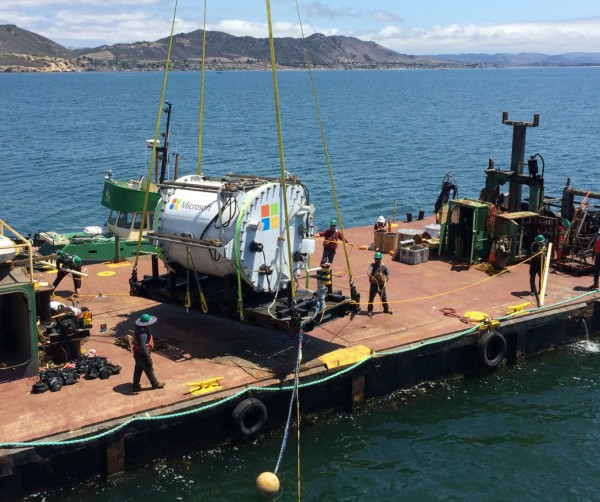 Microsoft's subsea data center experiment is now at research stage