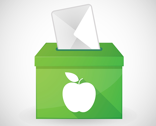 Apple vote