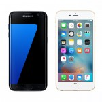 Samsung Galaxy S7 edge Apple iPhone 6s Plus