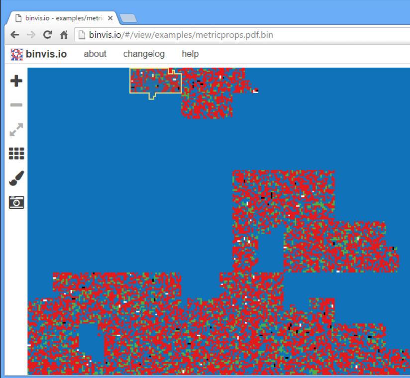 binvis io is the visual way to analyze binary files
