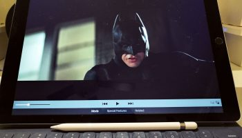 iPad Pro Batman Returns