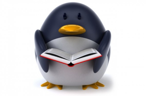 linux_penguin_with_book