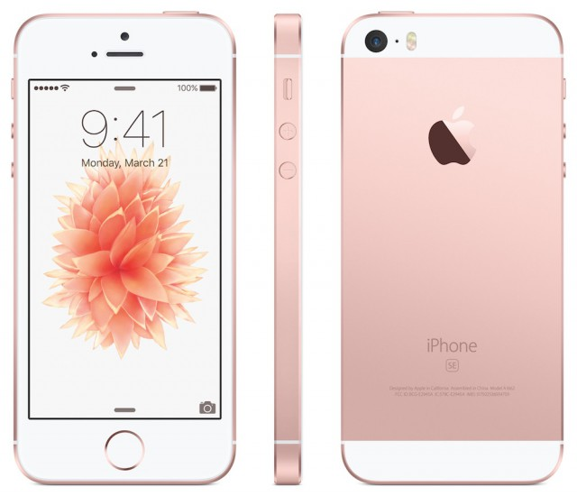 apple iphone se 64gb rose gold unlocked mly42ll a apple warranty ebay. Black Bedroom Furniture Sets. Home Design Ideas