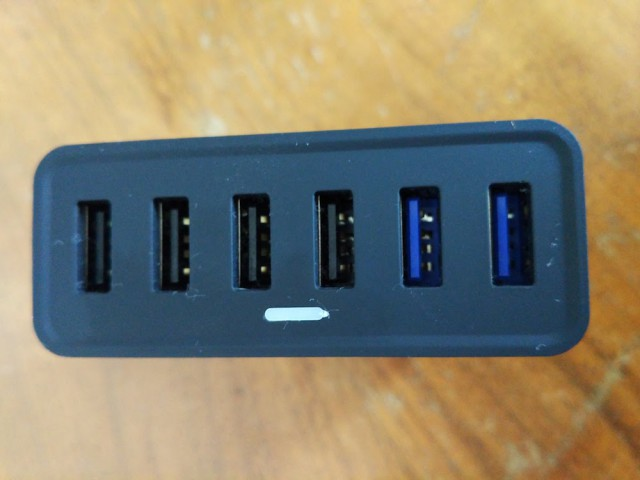 Chotech six USB ports charger
