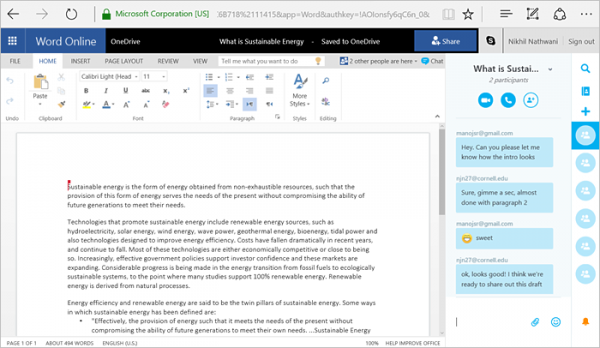 Collaboration-in-Office-chat-with-your-co-editors-in-real-time-via-Skype-2b