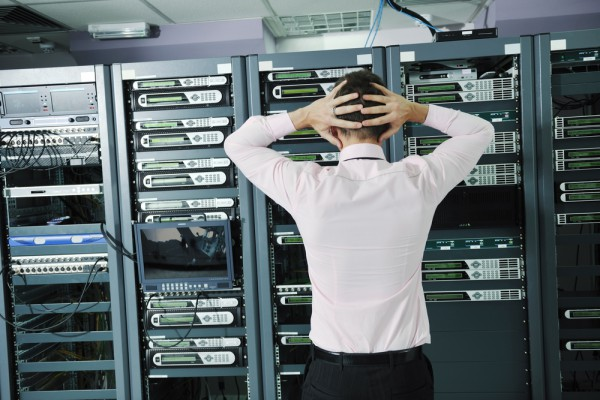 Man Server Room Problem