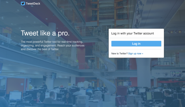 TweetDeck Web App