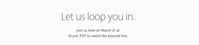 iPhone SE Event Livestream Live Watch lassen Sie sich von uns in der Datumsstunde schleifen