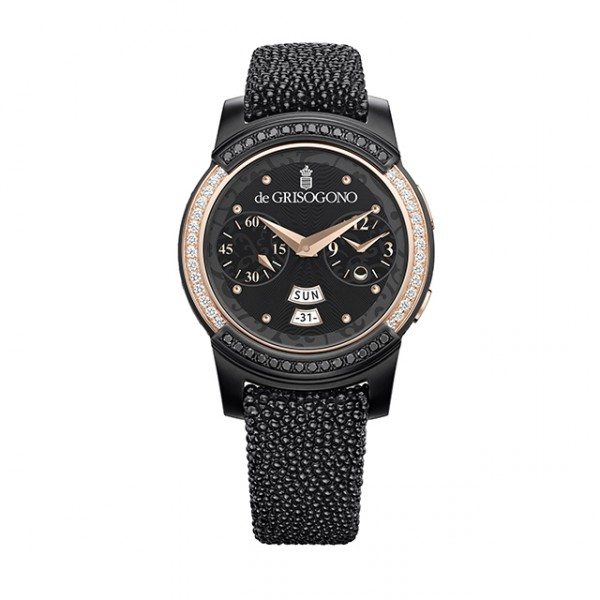Samsung Gear S2 by de GRISOGONO is a Tizen smartwatch with real diamonds  and gold 864b192133
