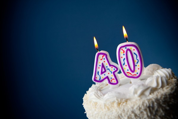 Birtday Cake 40