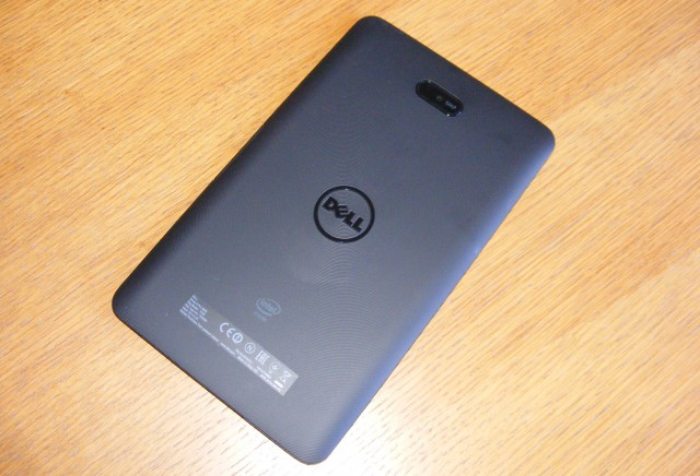 Dell Venue 8 Pro back