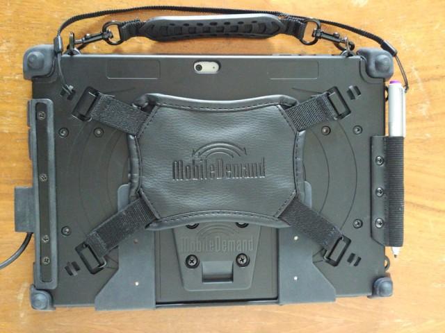 MobileDemand xCase rear