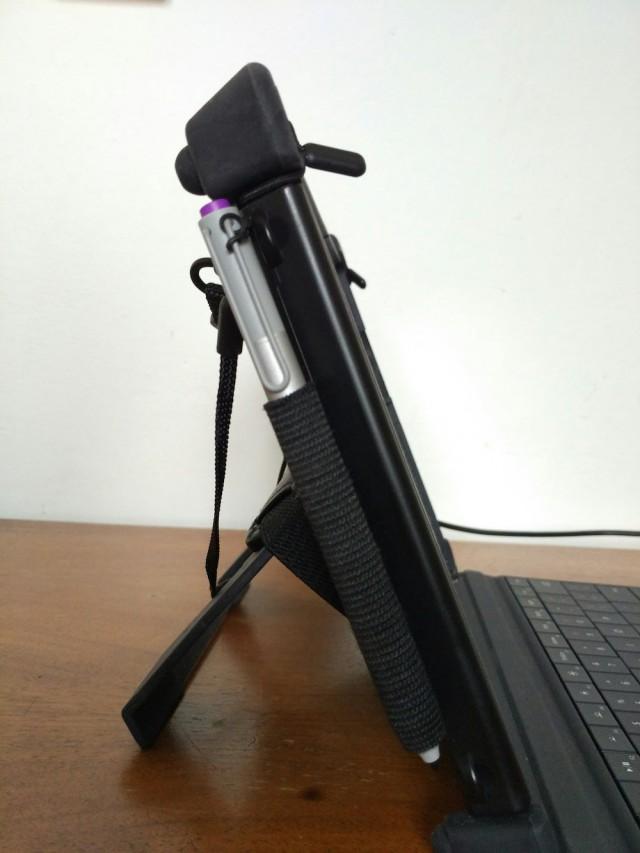 MobileDemand xCase side kickstand Surface Pen holder