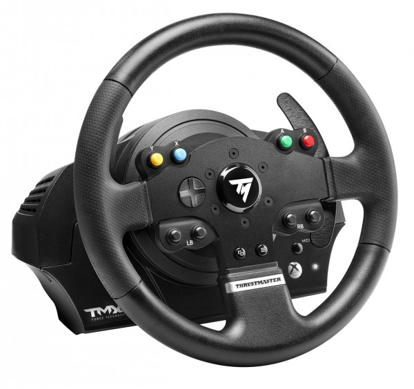 thrustmaster announces tmx force feedback racing wheel for. Black Bedroom Furniture Sets. Home Design Ideas