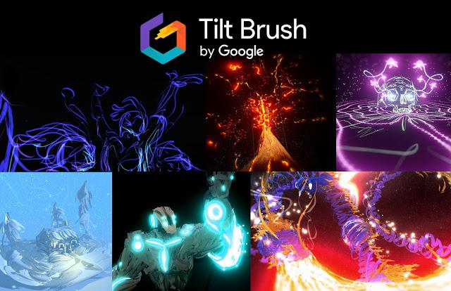 Google Tilt Brush Brings 3d Vr Painting To Htc Vive