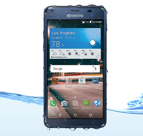 Kyocera Unveils 99 Waterproof Hydro Reach Android Phone