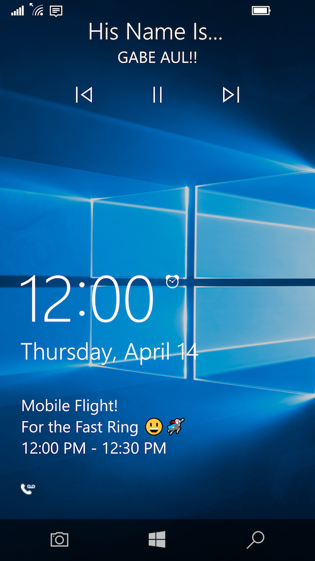 Microsoft releases windows 10 mobile insider preview build for Mobel lossek