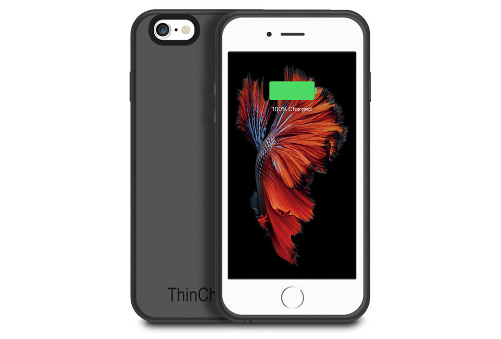 iphone 6 battery case review thincharge is an excellent lightweight battery for 7610