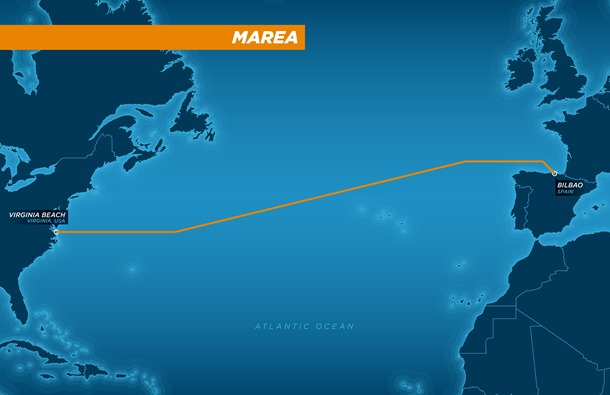 Facebook and Microsoft are building an underwater cable across the Atlantic