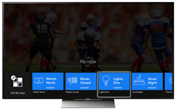 Control your home using Sony Android TV, Logitech Harmony