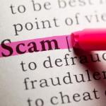 scam definition dictionary highlight