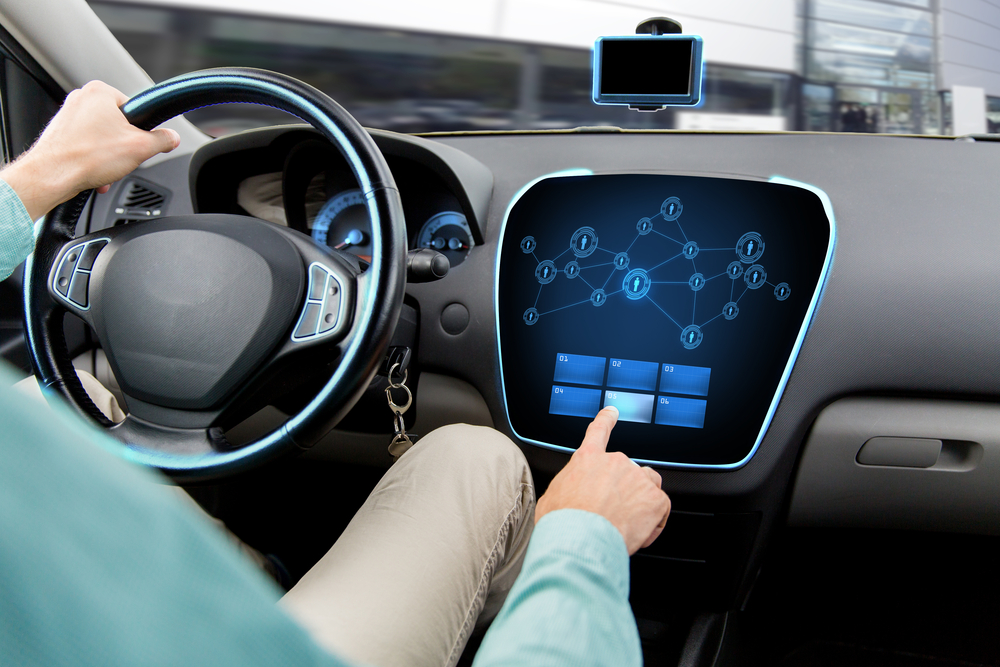 Connected car dash