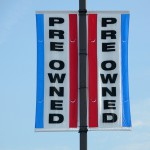Pre owned used sign