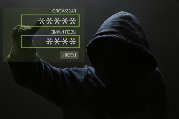 hacker username password login
