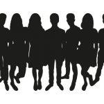 teenagers-silhouette