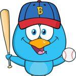 BirdBaseballBLueTwitter