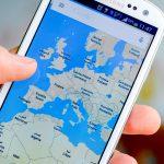 Google Maps Samsung Smarthone