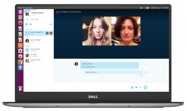 Microsoft launches alpha of new Skype app for Linux