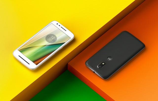 Motorola Moto E3 black white