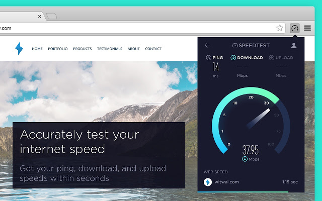 Internet speedtest free download speed & ping test software.