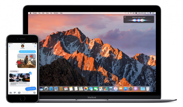 macOS Sierra iOS 10 public betas MacBook Pro iPhone 6s