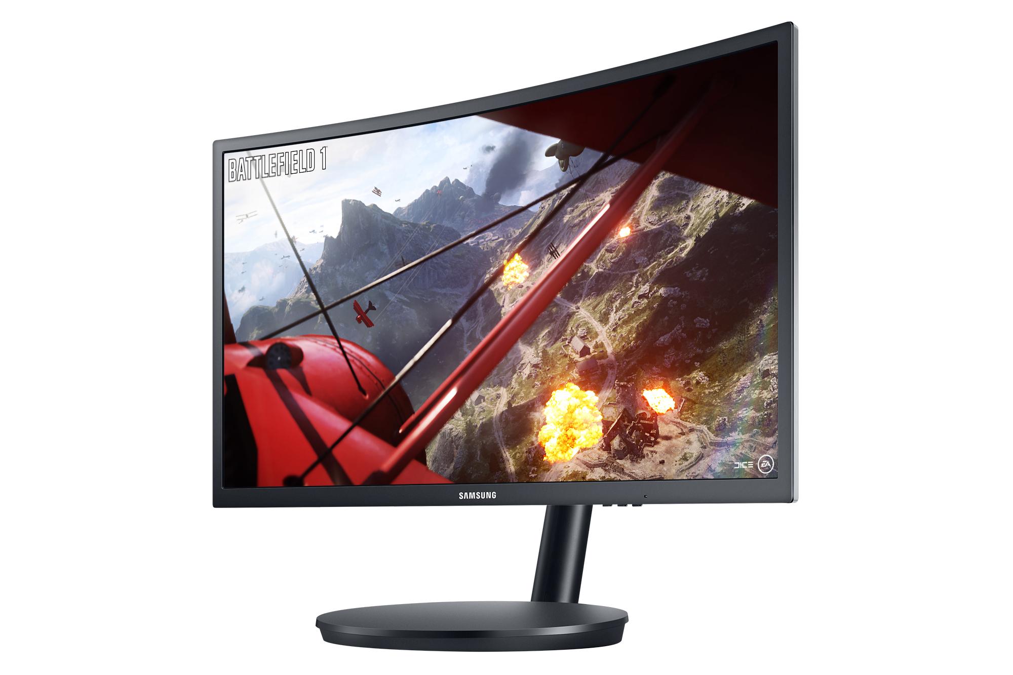 Kết quả hình ảnh cho Samsung CFG70 Review : A Curved Gaming Monitor Done Right