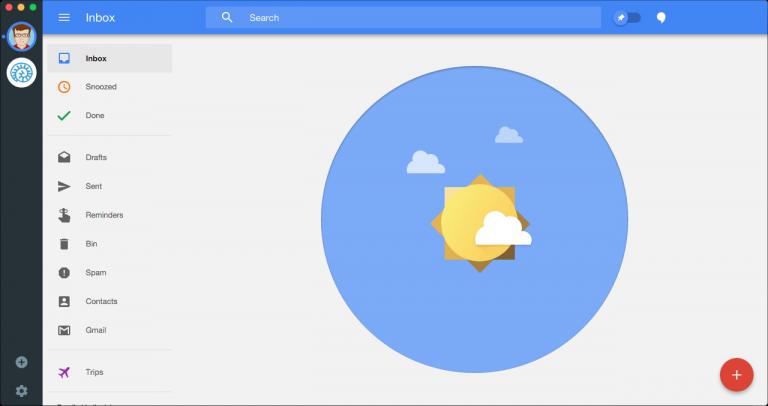 Wmail is a cross-platform desktop client for Gmail