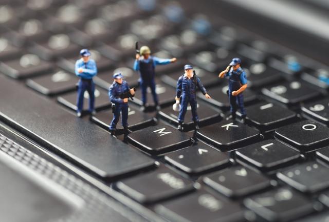 macro-police-keyboard