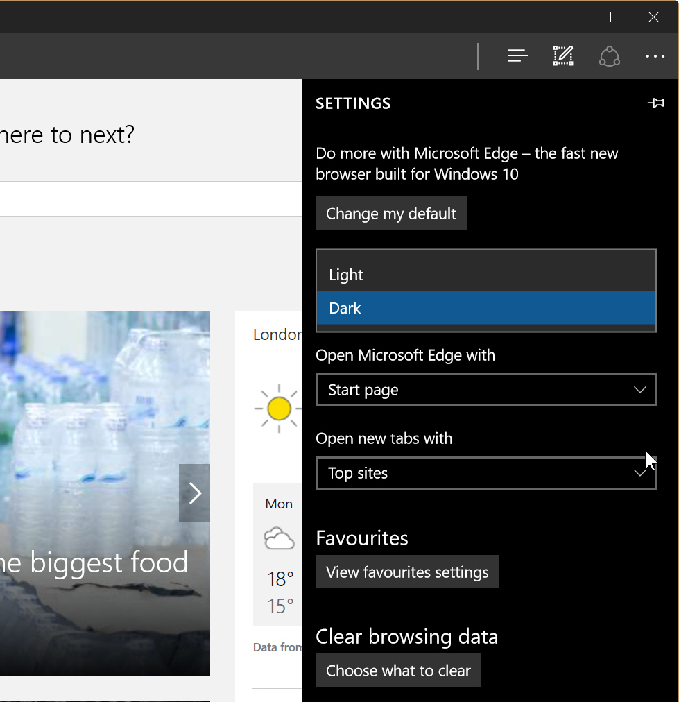 How To Enable The Dark Theme In Microsoft Edge