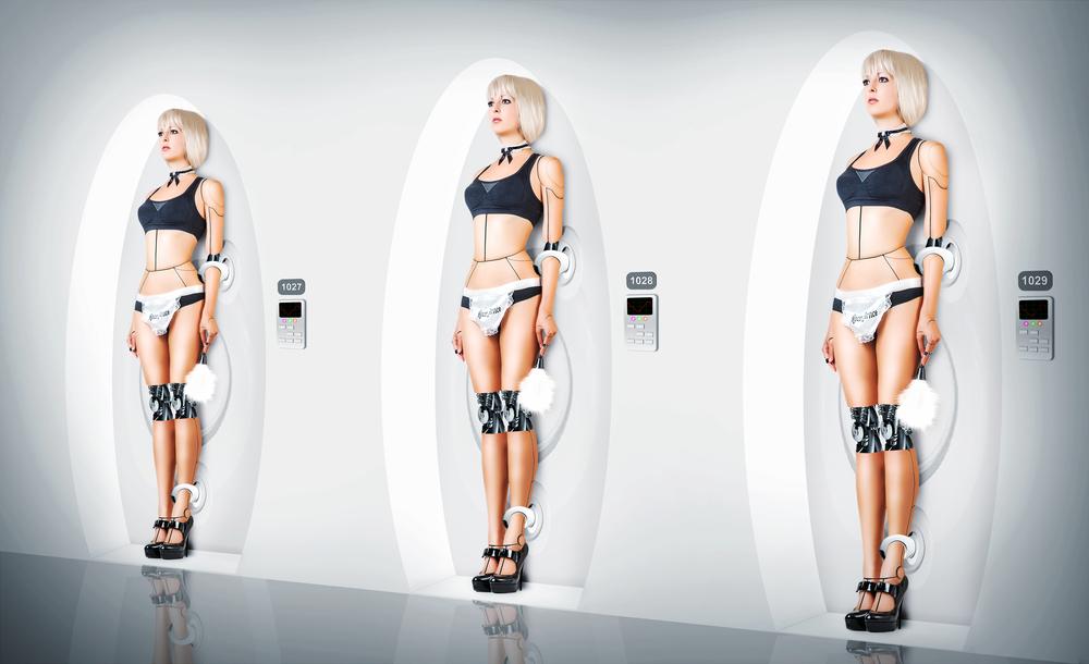 hot girls robot porn pics
