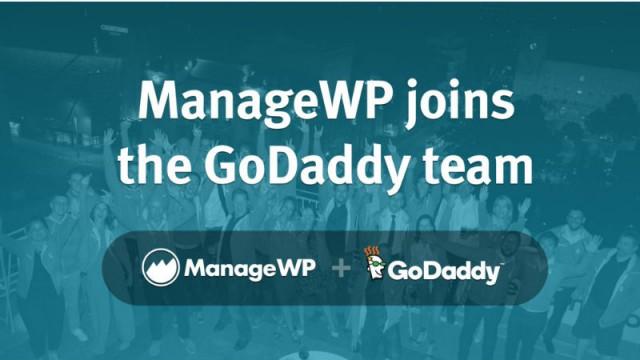 ManageWP GoDaddy Acquisition