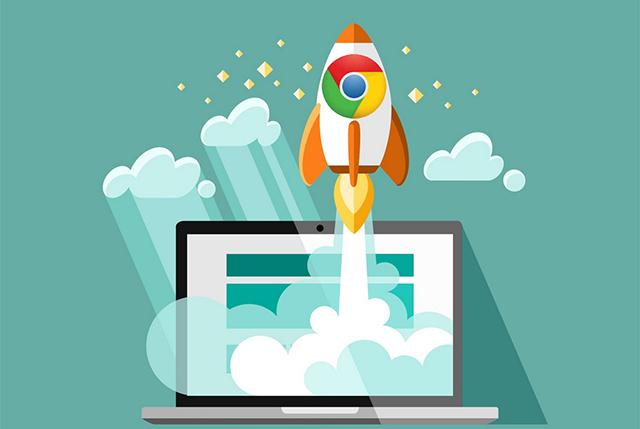 Chrome rocket