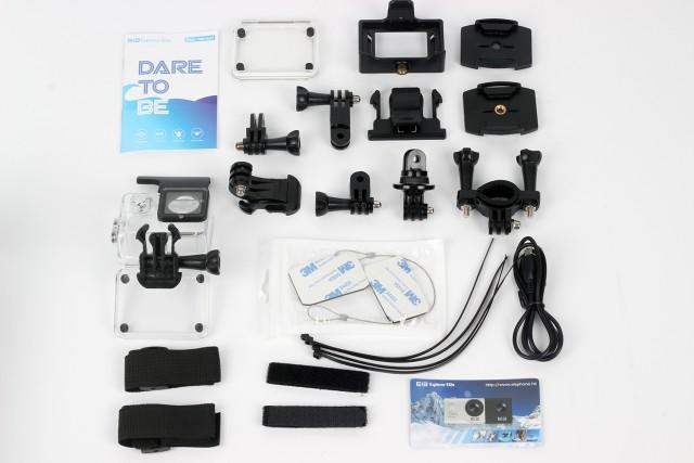 Elephone EleCam Explorer Elite box contents