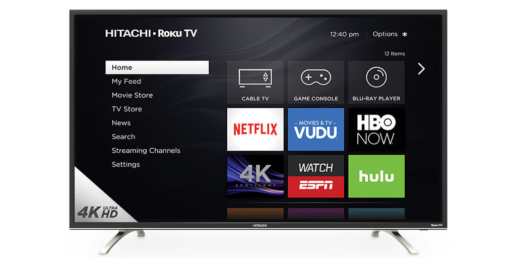 Hitachi 4K Ultra HD TV's Powered By Roku Hit The Market