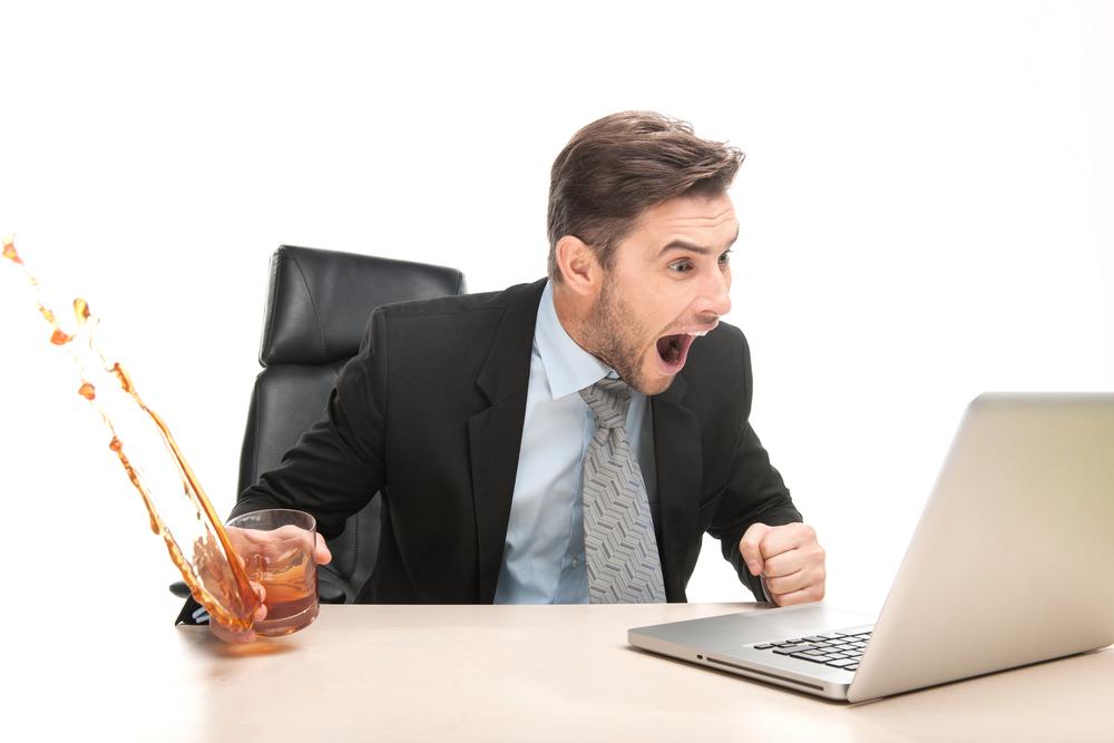 Shocked PC user