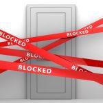 blocked-door